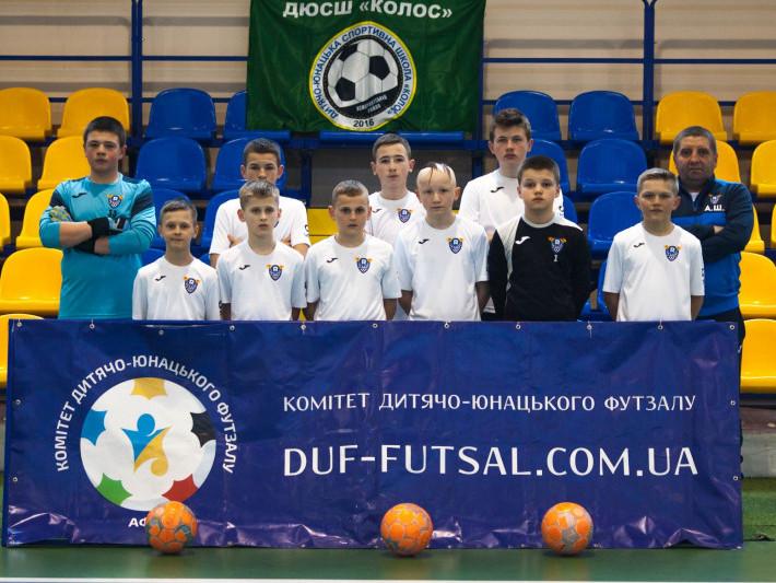 Маневичани стали призерами Кубку України з футзалу серед команд U-14