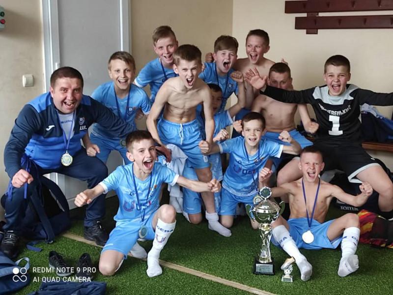 Маневицькі юнаки вибороли Кубок України з футзалу