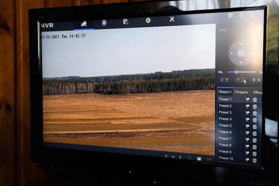 У маневицьких лісах встановили ще три сучасні системи відеоспостереження