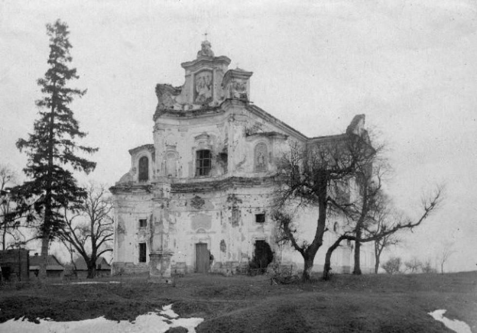 Руїни домініканського костелу. https://pl.wikipedia.org
