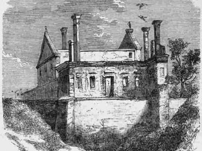 Руїни замку в Чорторийську (1897)