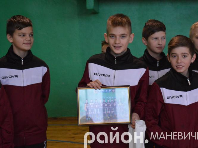 Огій Яцук – кращий гравець команди ДЮСШ Маневич