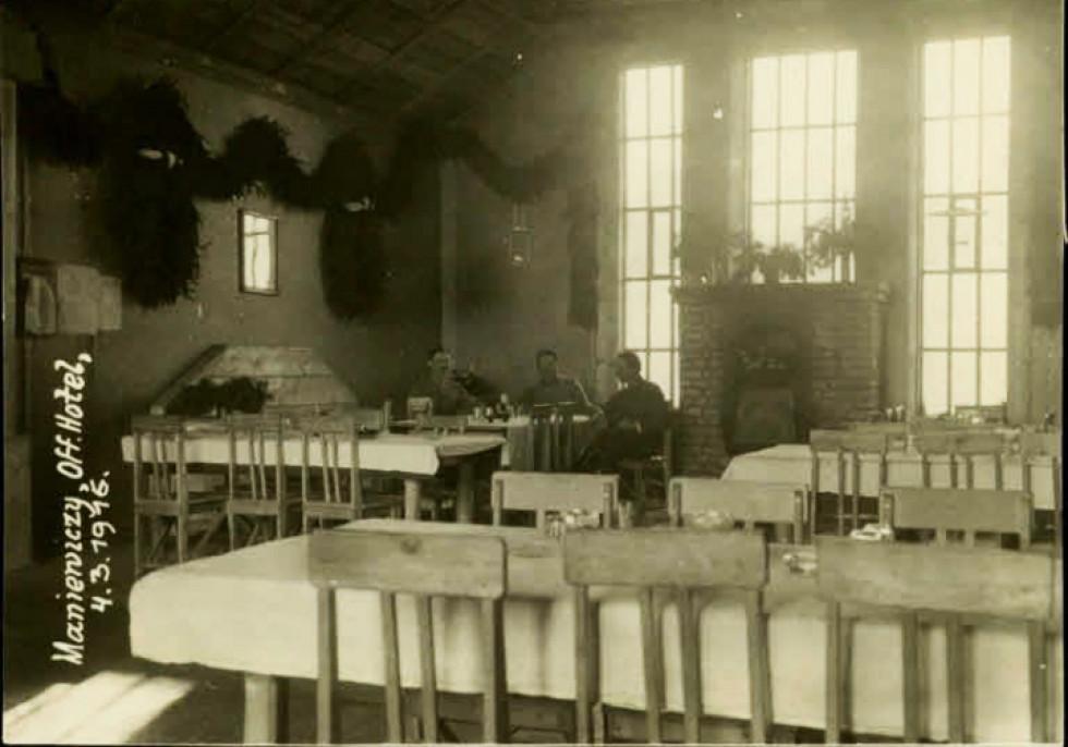 Готель у Маневичах, 1917 рік