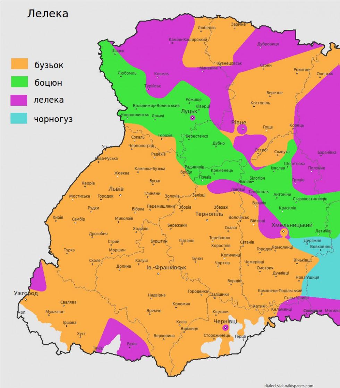 Так на Західній Україні кажуть на лелеку