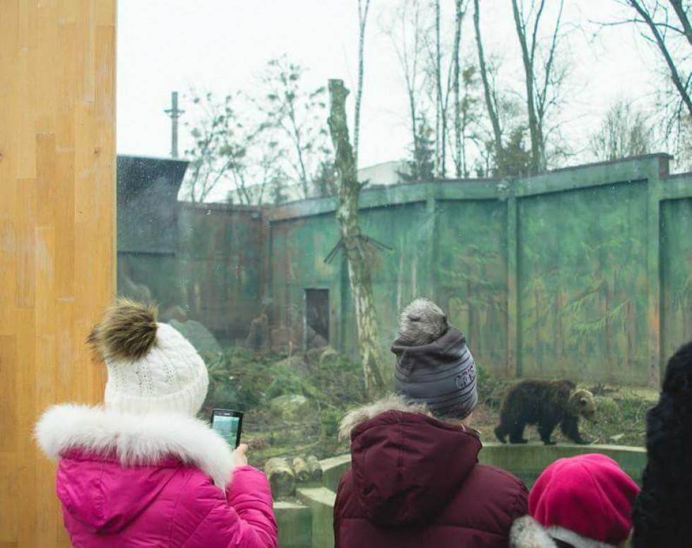 Прогулянка дітей зоопарком