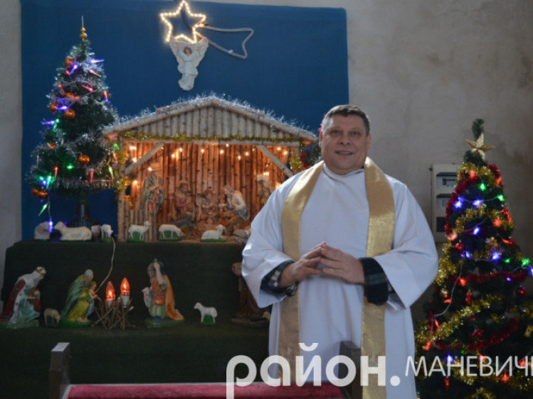 Настоятель католицької парафії ксьонз Андрій Квічала