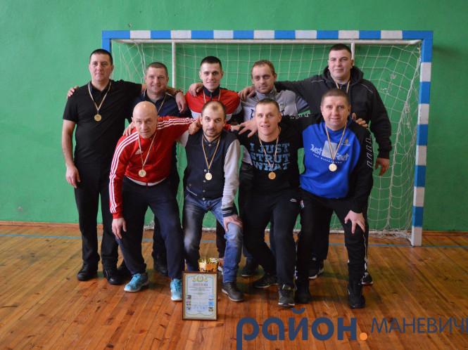 Переможці – футбольна команда селища Маневичі