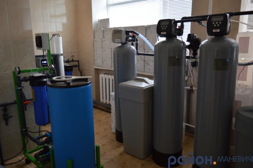 Система водочистки