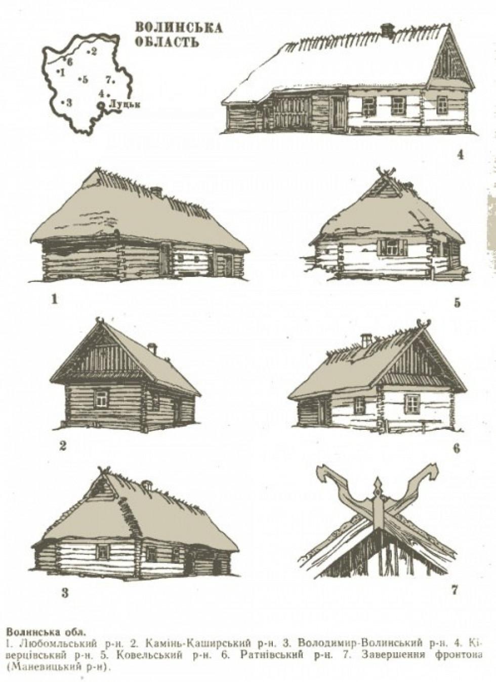 Як виглядали хати Маневиччини на початку минулого століття