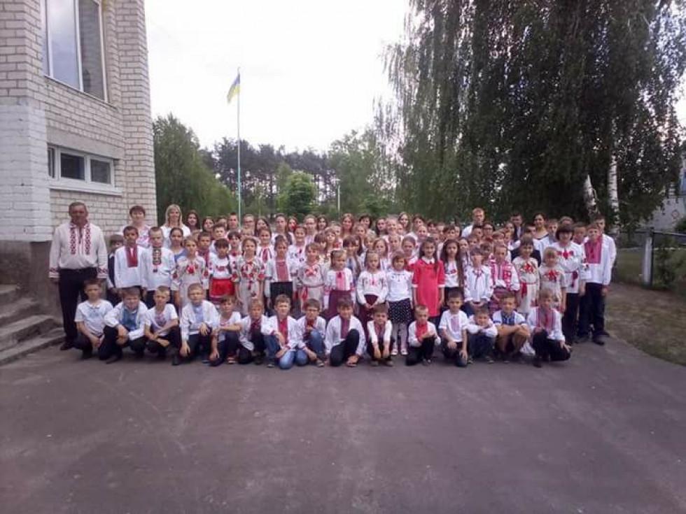 Школа в селі Оконськ