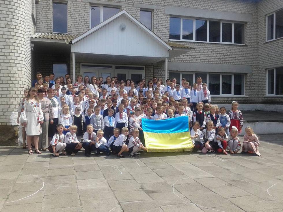 Школа в селі Гораймівка