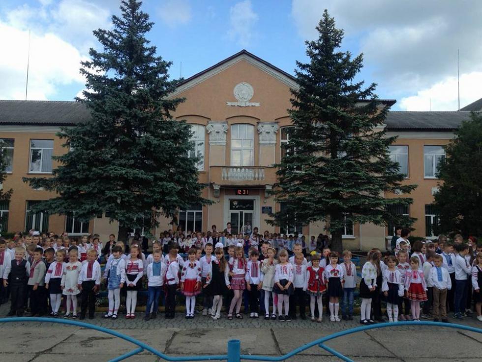 Школа №1 в Маневичах