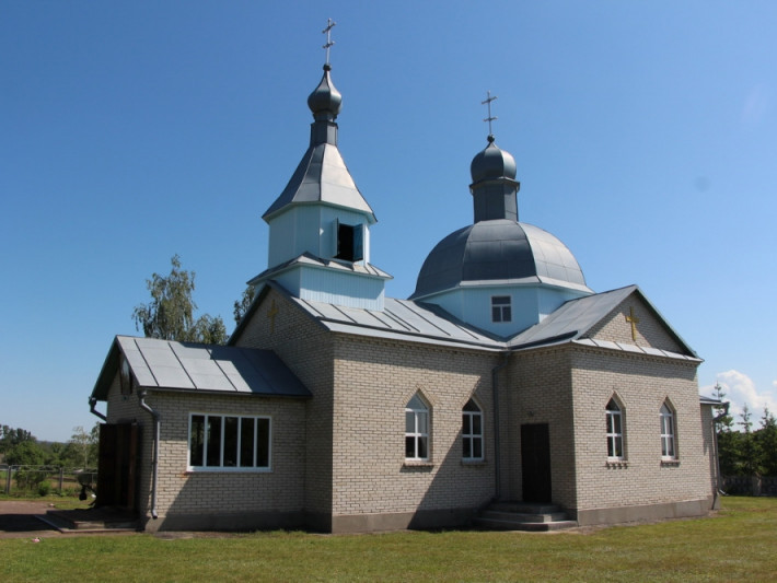 Церква Вознесіння Господнього в селі Козлиничі Маневицького деканату