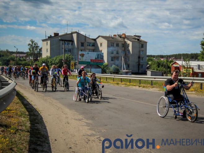 Велопробіг «Один світ – одна мрія» у 2016 році