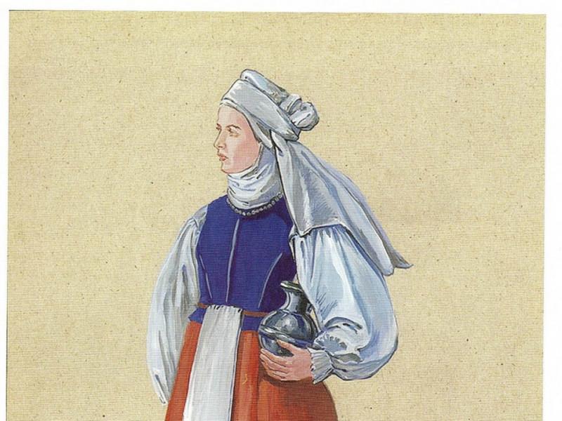 Як одягалися маневичани 400 років тому