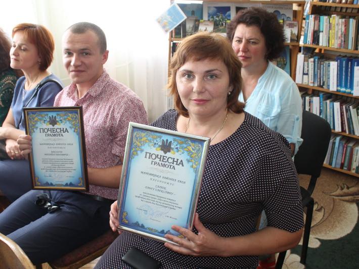У Маневичах нагородиликращих працівників району