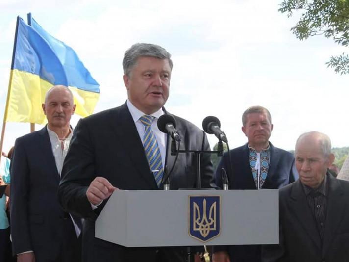 Делегація Маневиччини разом з Президентом України відвідали села Гончий Брід та Сагринь