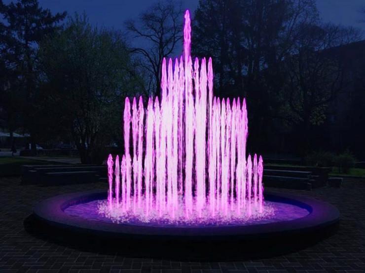У Маневичах запрацює фонтан