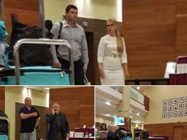 Ігоря Палицю помітили у варшавському готелі в компанії з Коломойським і Тимошенко