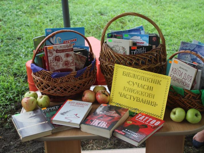 На території «Бібліодворика» у Маневичах, провели «Бібліопікнік»