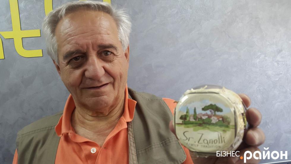 Італійський технолог погодився, аби його ім'я було зазначене на етикетці тільки за умови особистого контролю за якістю і додержанням рецептури
