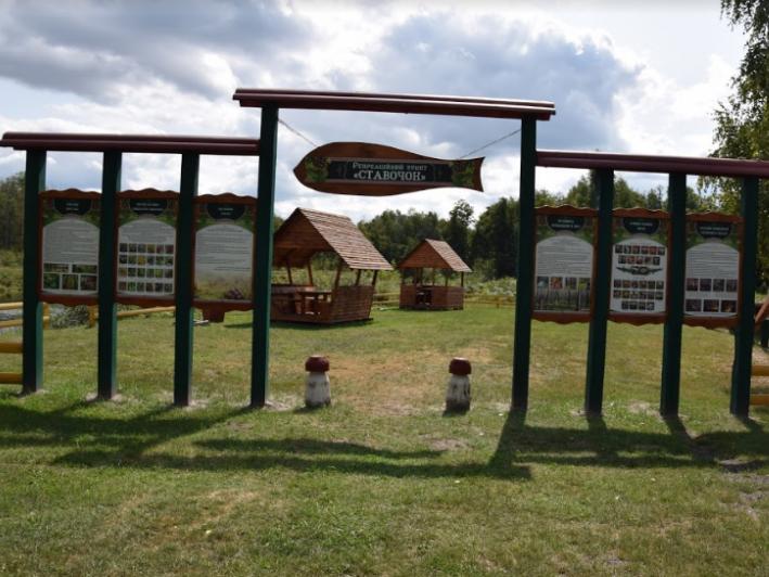 На Маневиччині лісівники відкрили рекреаційний пункт з дитячим майданчиком