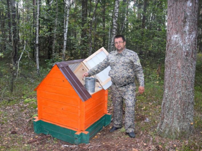 На території Маневицького лісництва у 21 кварталі, відновили занедбану криницю