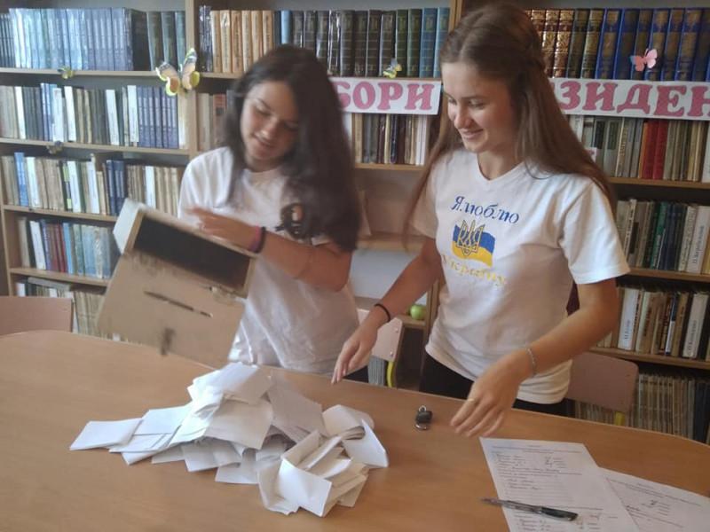 У Костюхнівці відбулися вибори президента школи