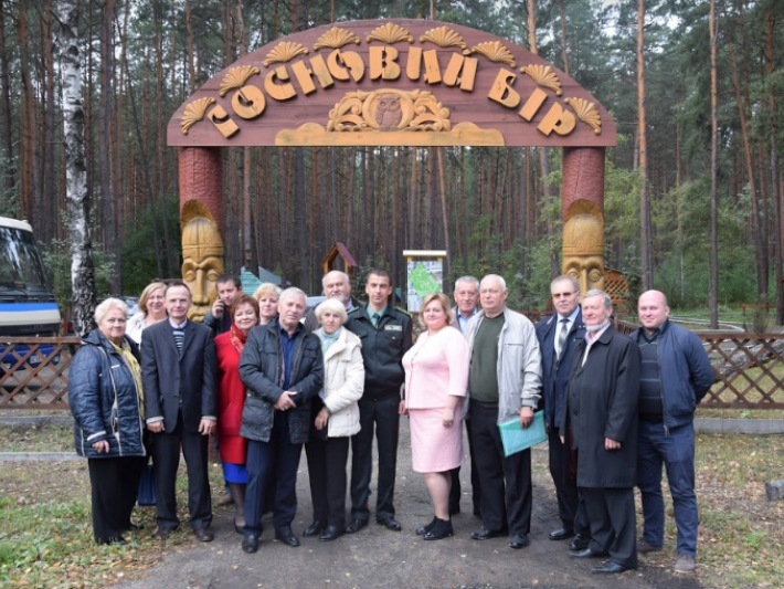 На Маневиччині профспілкові лідери Волині провели виїзне засідання