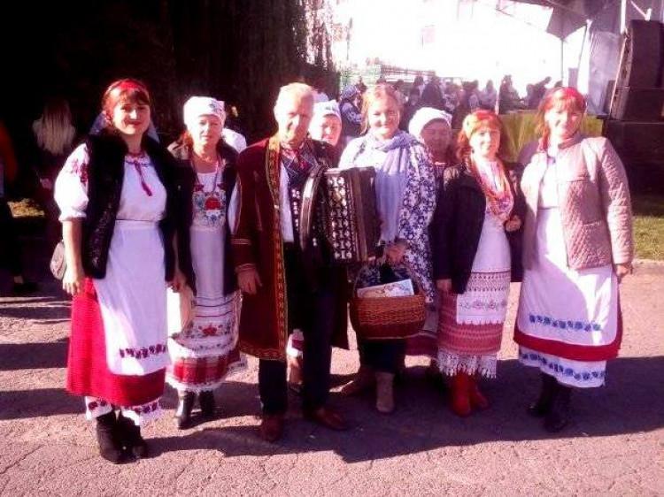 Маневичани взяли участь у фестивалі «Український коровай-сузір'я»