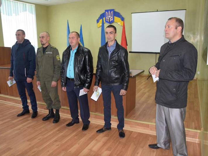 У ДП «Маневицьке лісове господарство» привітали учасників АТО