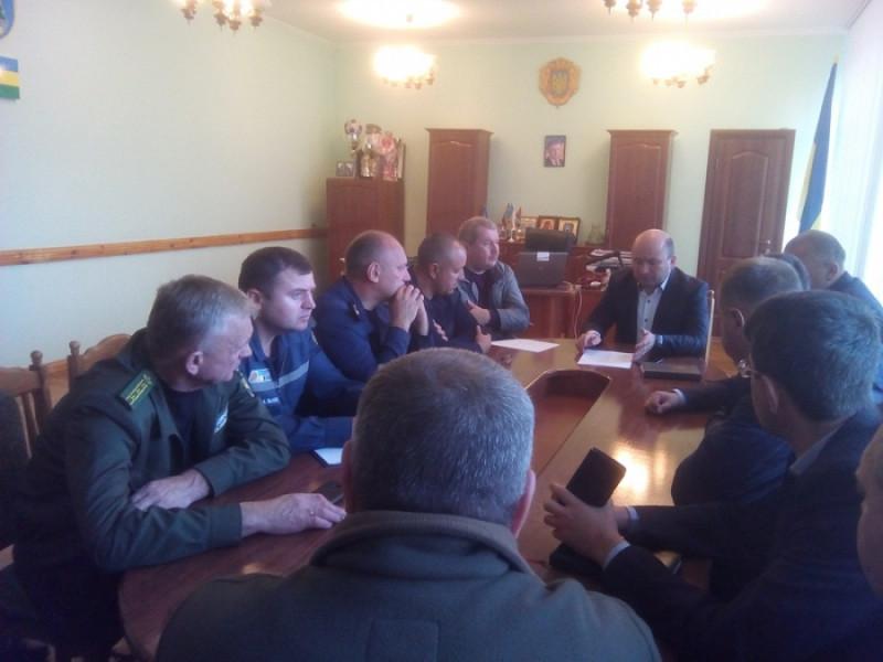 У Маневичах провели термінове засідання місцевої комісії з питань ТЕБ та НС