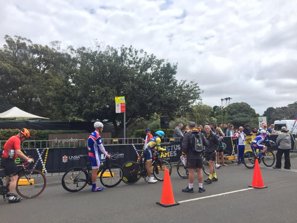 Змагання із велоспорту