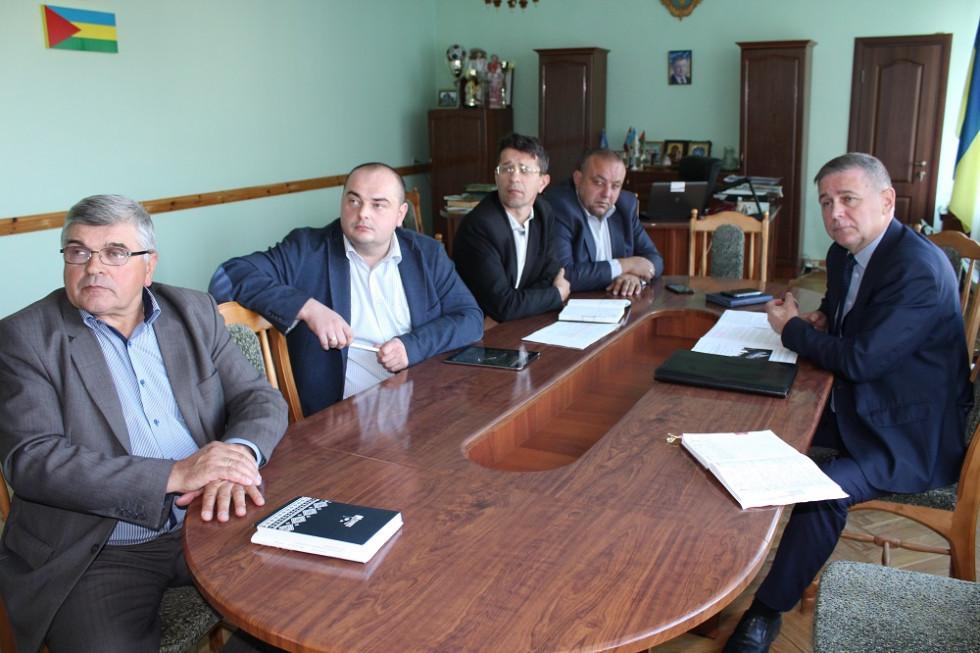 Під час зустрічи з керівництвом Маневицького району