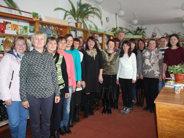 Школа професійної майстерності у селі Комарове