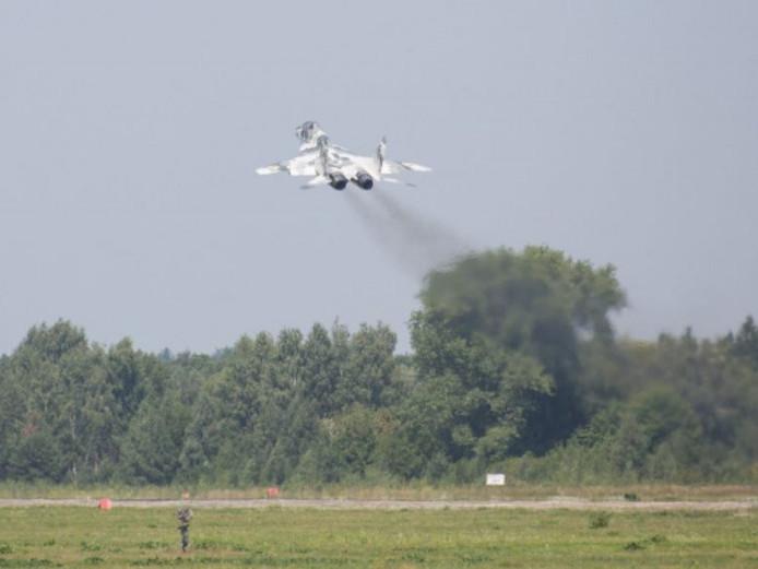 На Ковельщині перенесли авіаційні навчання
