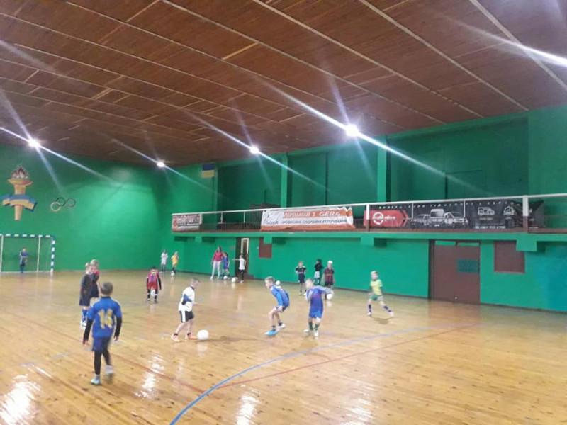 У Маневичах розпочали навчально-тренувальні збори з футзалу