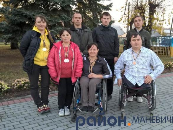 Маневичани здобули 13 медалей на фізкультурно-оздоровчому фестивалі