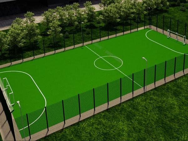 На Маневиччині збудують нове футбольне поле