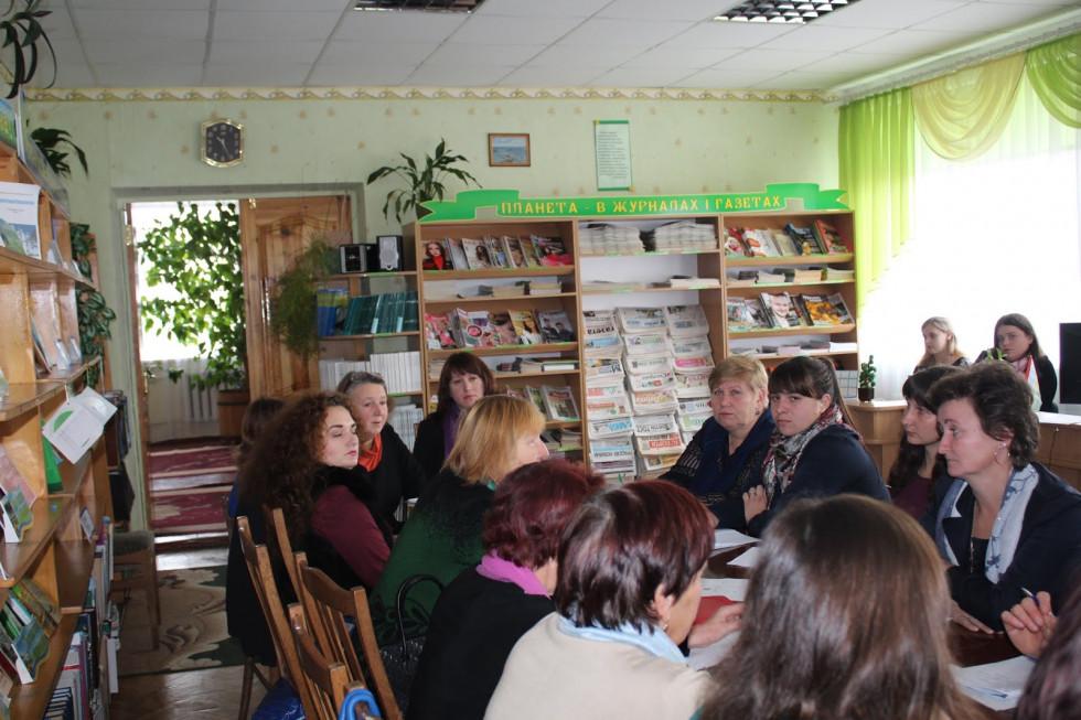 Бібліотекарі Маневиччини обговорили соціальні та методично-виробничі питання