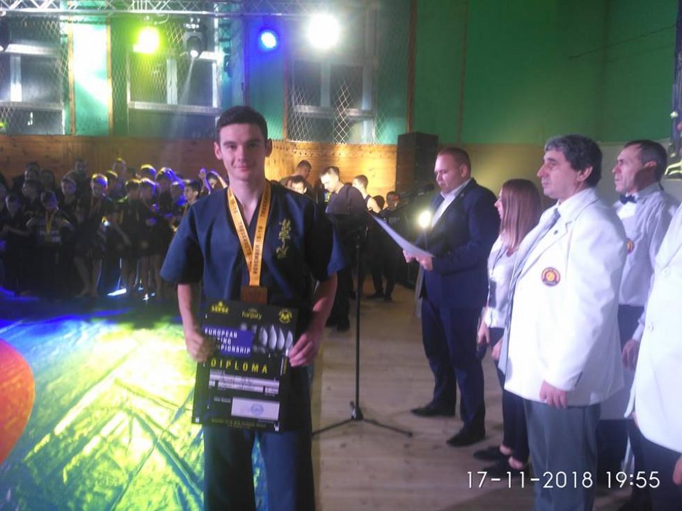 Маневичанин завоював золото на чемпіонаті Європи з хортингу