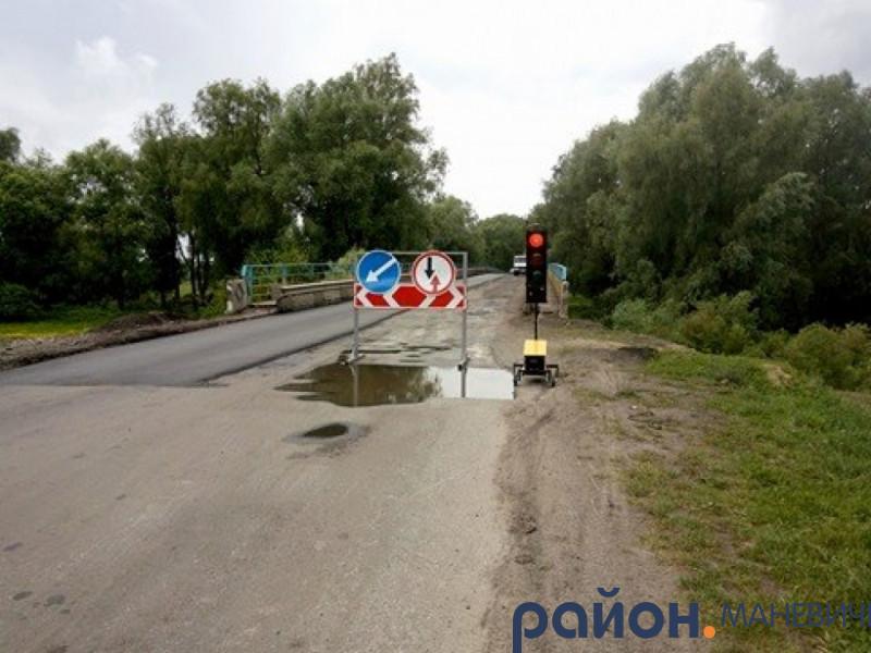 У Колках завершили ремонт мосту