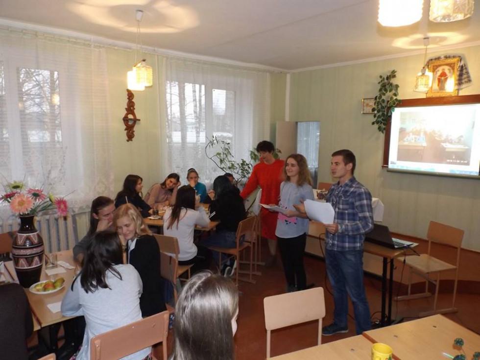 У маневицькому ліцеї провели конференцію «Чай та чайні традиції»