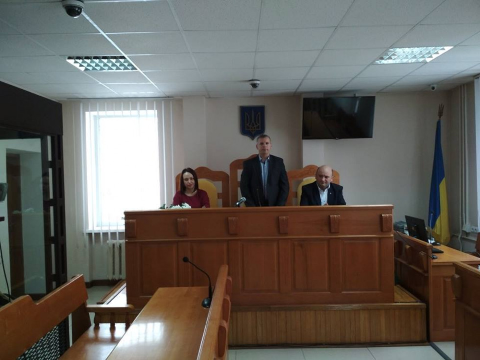 У маневицькому суді провели святкове зібрання