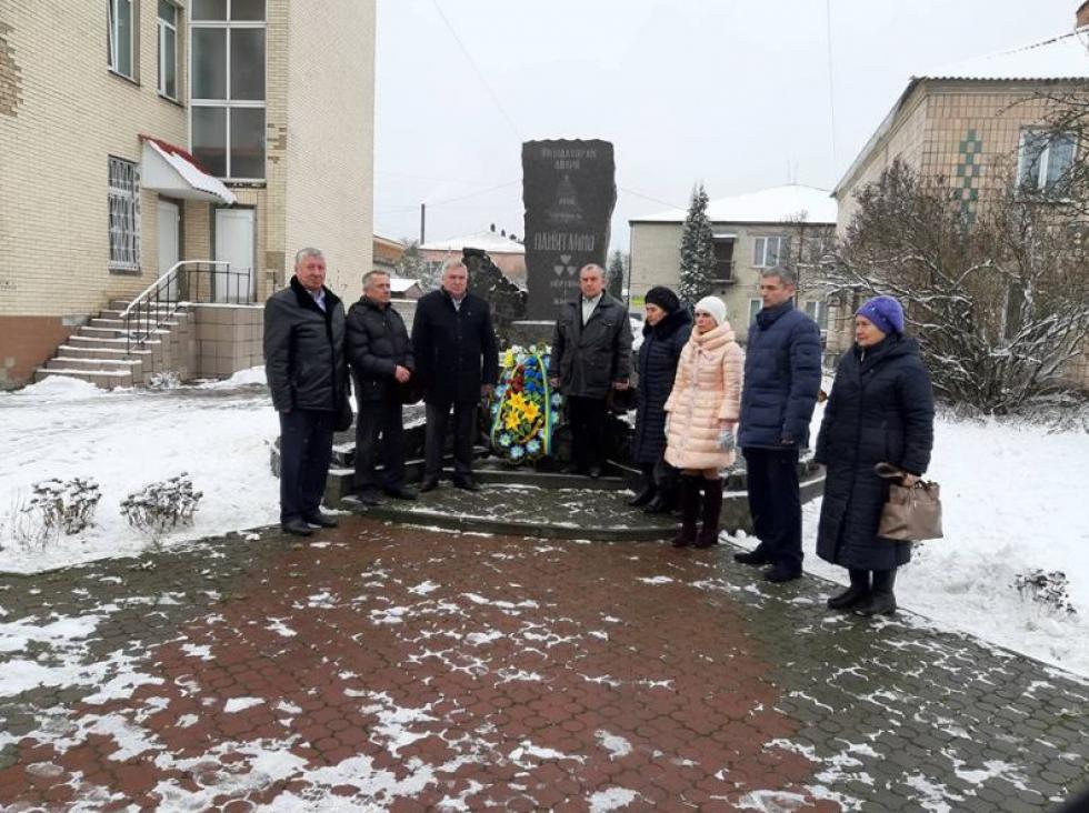У Маневичах вшанували ліквідаторів аварії на ЧАЕС