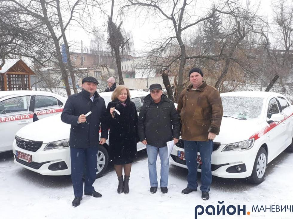 У Маневицьку первинку придбали нові автомобілі