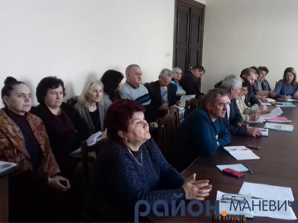 На Маневиччині провели нараду директорів освітніх закладів