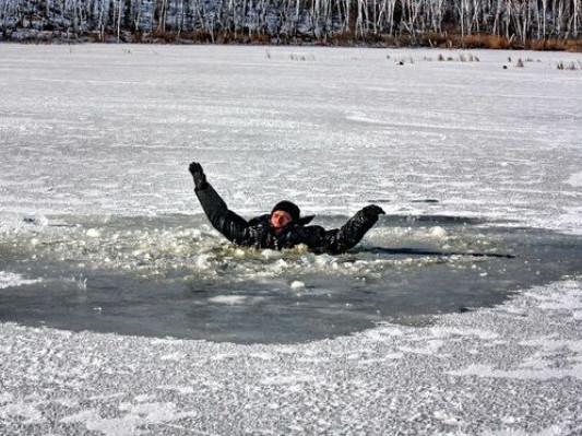 Основні правила поведінки на водоймах взимку
