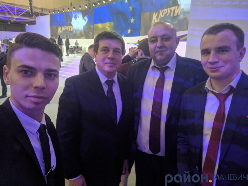 Маневичани та Віце-прем'єр-міністр Генадій Зубко