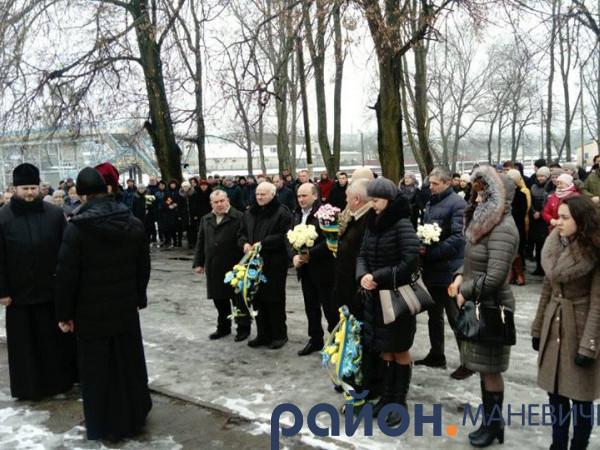У Маневичах відзначили 75-ту річницю звільнення від німецько-фашистських загарбників